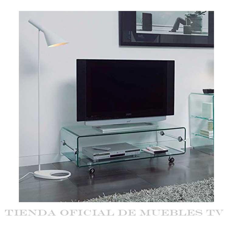 Mueble Tv Cristal